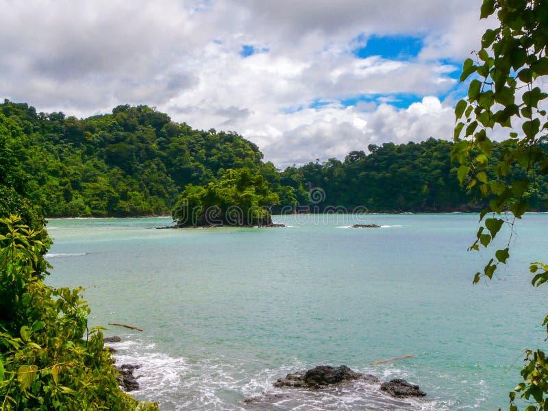 Εθνικό πάρκο του Manuel Antonio στοκ εικόνα με δικαίωμα ελεύθερης χρήσης