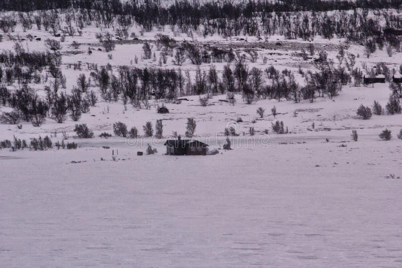 Εθνικό πάρκο χειμερινού Jotunheimen στοκ εικόνες με δικαίωμα ελεύθερης χρήσης