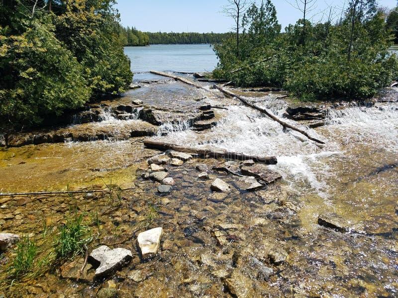 Εθνικό πάρκο χερσονήσων του Bruce στοκ φωτογραφία με δικαίωμα ελεύθερης χρήσης