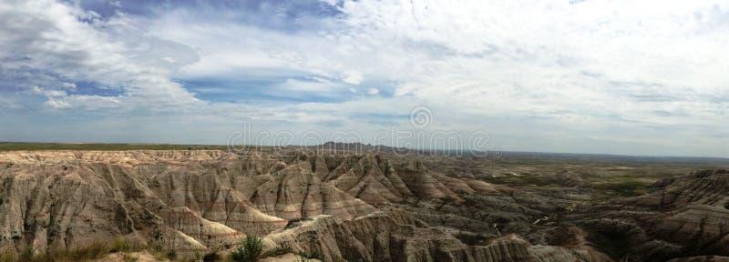 Εθνικό πάρκο Badlands στοκ εικόνα