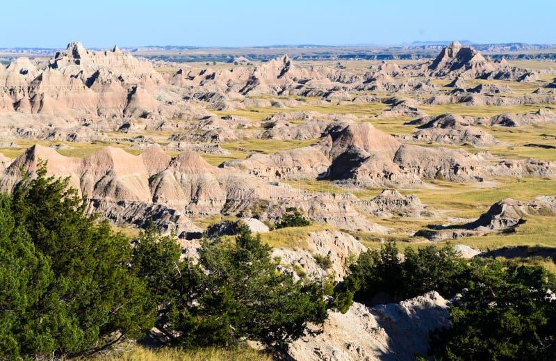 Εθνικό πάρκο Badlands στοκ φωτογραφία με δικαίωμα ελεύθερης χρήσης