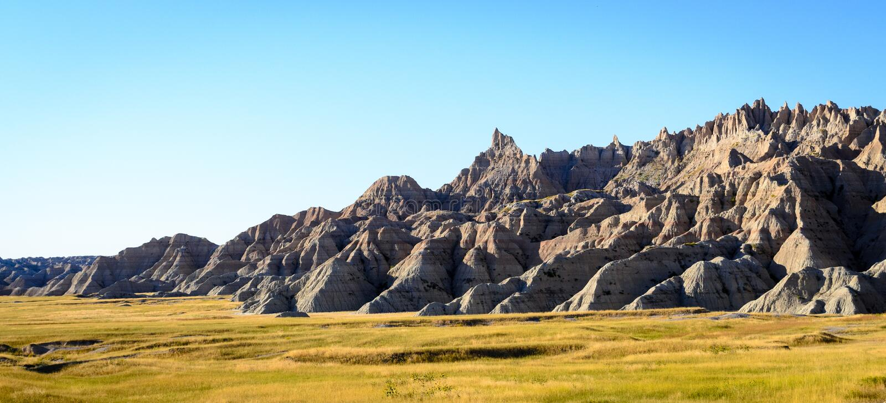 Εθνικό πάρκο Badlands στοκ φωτογραφία
