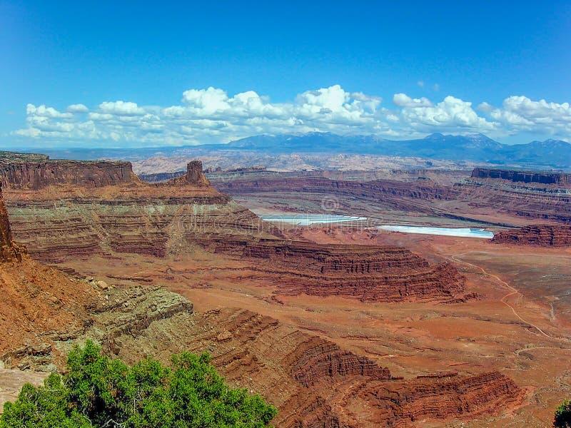 Εθνικό πάρκο Canyonlands, Γιούτα, U S Α στοκ εικόνα με δικαίωμα ελεύθερης χρήσης