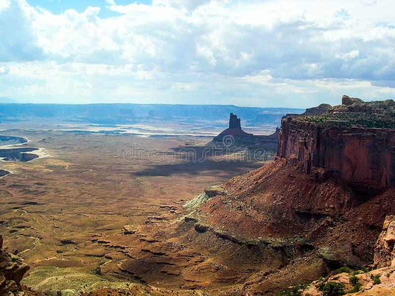 Εθνικό πάρκο Canyonlands, Γιούτα, U S Α στοκ εικόνες