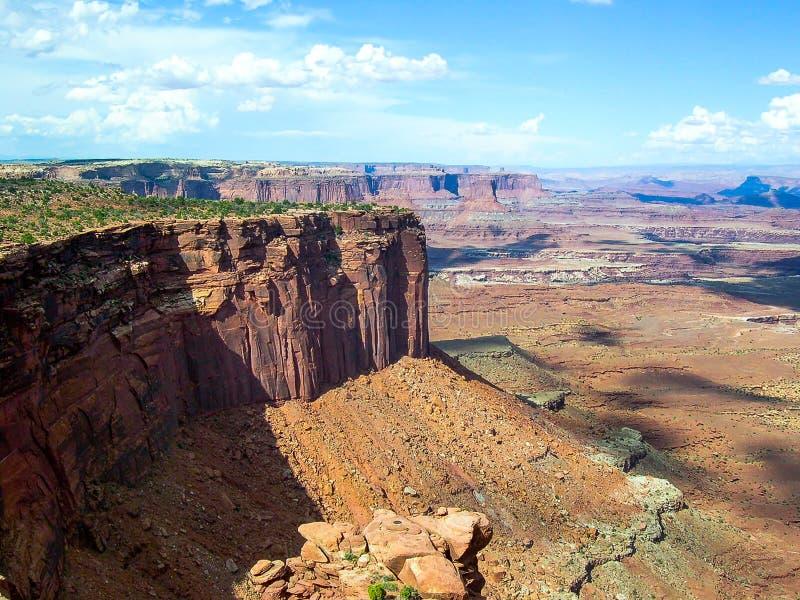 Εθνικό πάρκο Canyonlands, Γιούτα, U S Α στοκ φωτογραφίες με δικαίωμα ελεύθερης χρήσης