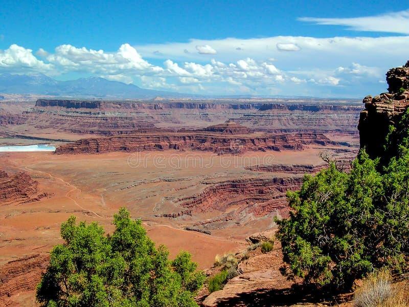 Εθνικό πάρκο Canyonlands, Γιούτα, U S Α στοκ φωτογραφία με δικαίωμα ελεύθερης χρήσης