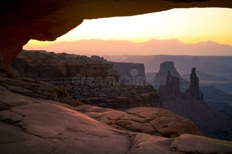 Εθνικό πάρκο Canyonlands στοκ εικόνες με δικαίωμα ελεύθερης χρήσης