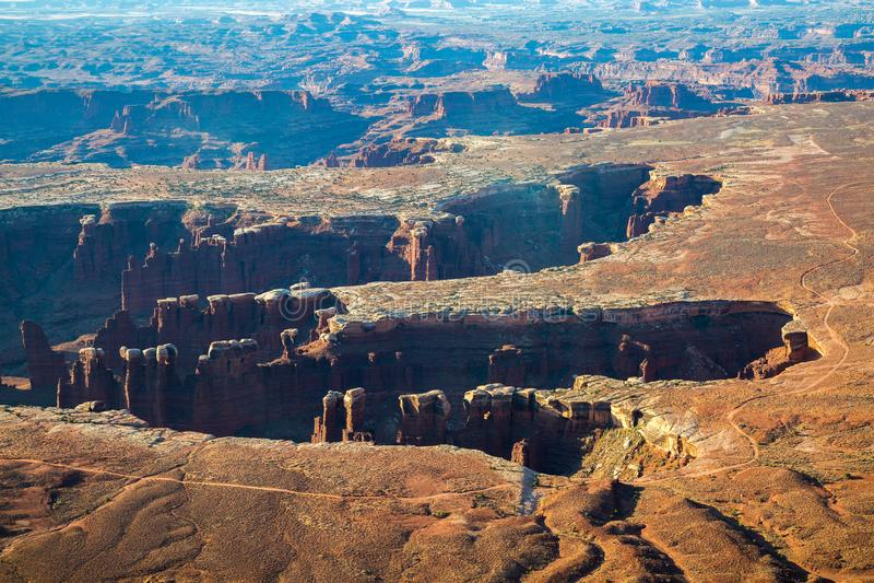 Εθνικό πάρκο Canyonlands στοκ φωτογραφίες