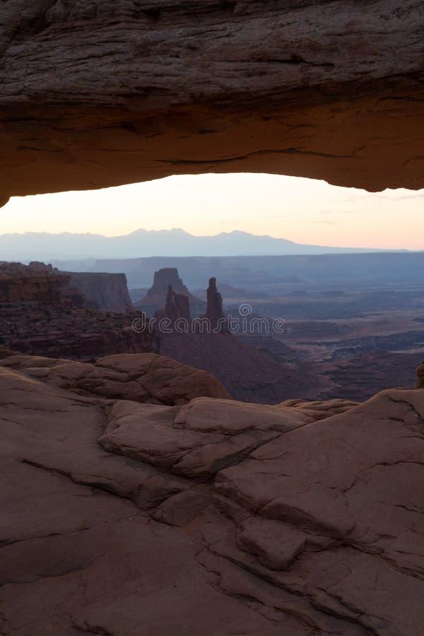 Εθνικό πάρκο Canyonlands στοκ φωτογραφία