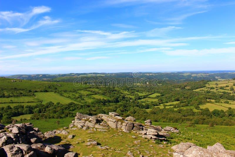 Εθνικό πάρκο Dartmoor στοκ εικόνες