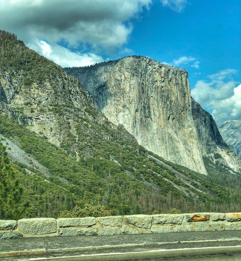 Εθνικό πάρκο EL Capitan Yosemite στοκ φωτογραφία με δικαίωμα ελεύθερης χρήσης