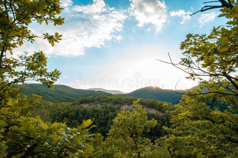 Εθνικό πάρκο Galicica στοκ φωτογραφία