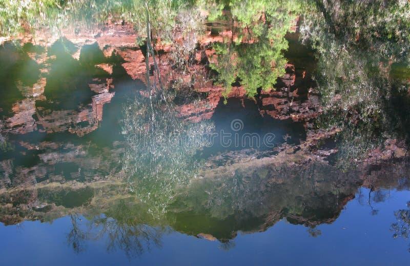 εθνικό πάρκο karijini στοκ φωτογραφία