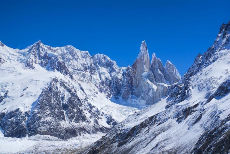Εθνικό πάρκο Los Glaciares στοκ εικόνα