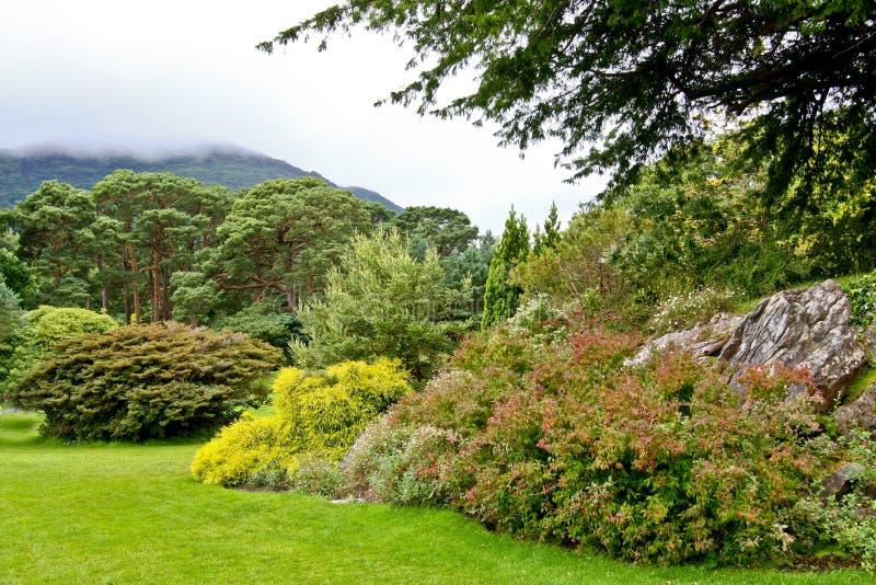 Εθνικό πάρκο Muckross Killarney κήπων, Ιρλανδία στοκ φωτογραφία με δικαίωμα ελεύθερης χρήσης