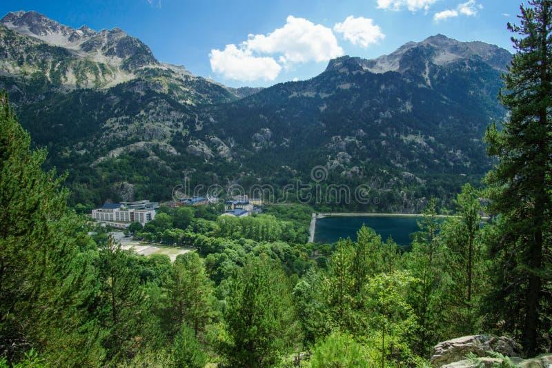 Εθνικό πάρκο Ordesa, Πυρηναία, Huesca, Αραγονία, Ισπανία στοκ φωτογραφίες με δικαίωμα ελεύθερης χρήσης