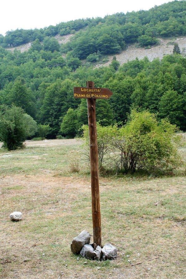 Εθνικό πάρκο Pollino στοκ εικόνα