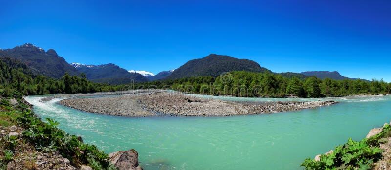 Εθνικό πάρκο Queulat, Aysen, Παταγωνία, Χιλή στοκ εικόνα με δικαίωμα ελεύθερης χρήσης