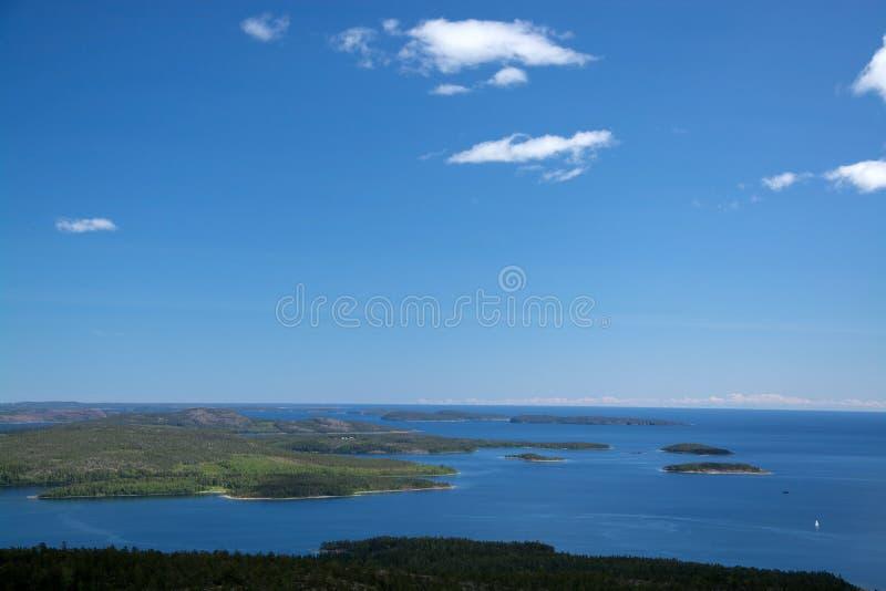 Εθνικό πάρκο Skuleskogen, Hoega Kusten, Σουηδία στοκ φωτογραφία με δικαίωμα ελεύθερης χρήσης