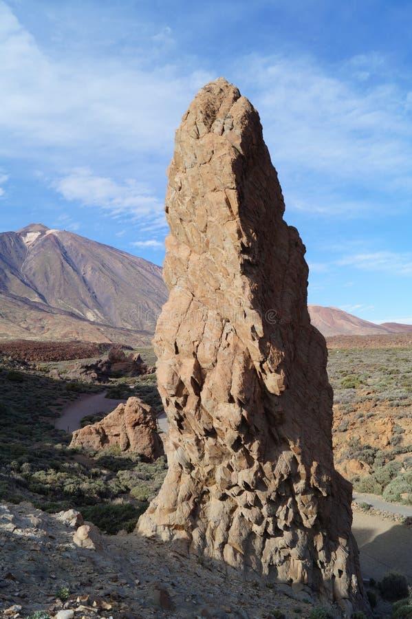 Εθνικό πάρκο Teide στοκ φωτογραφία με δικαίωμα ελεύθερης χρήσης