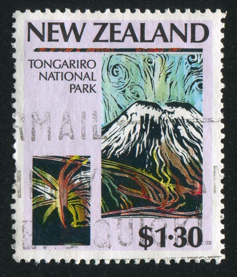 Εθνικό πάρκο Tongariro στοκ φωτογραφίες