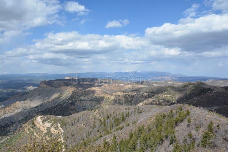 Εθνικό πάρκο Verde Mesa στοκ εικόνα με δικαίωμα ελεύθερης χρήσης