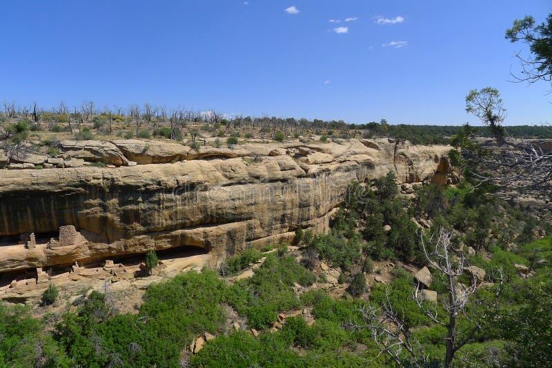 Εθνικό πάρκο Verde Mesa στοκ φωτογραφίες