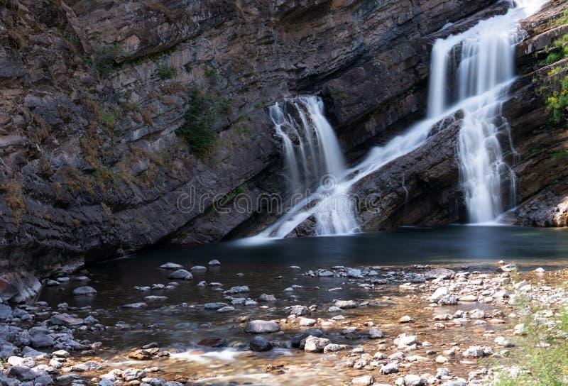 Εθνικό πάρκο Waterton Lakes, Alberta, Καναδάς στοκ εικόνα