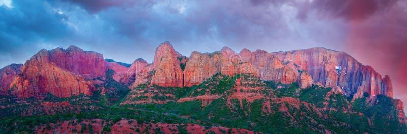 εθνικό πάρκο zion στοκ φωτογραφία με δικαίωμα ελεύθερης χρήσης