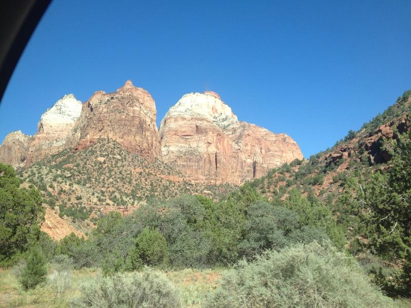 Εθνικό πάρκο Zion στοκ εικόνες με δικαίωμα ελεύθερης χρήσης