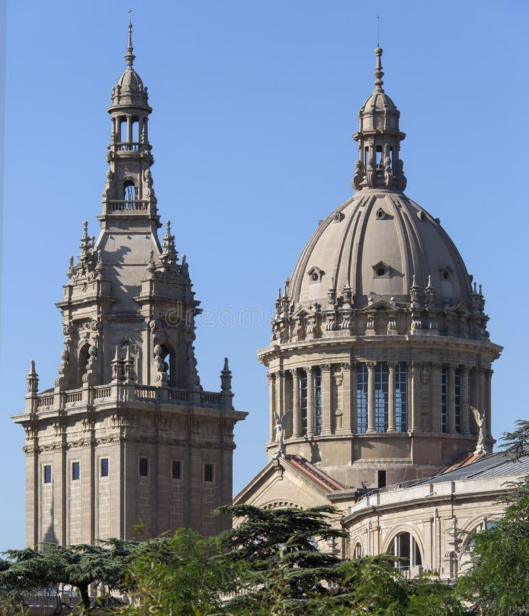 Εθνικό Παλάτι - Βαρκελώνη - Ισπανία στοκ εικόνα με δικαίωμα ελεύθερης χρήσης
