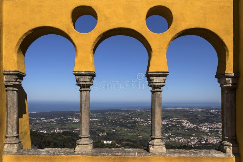 Εθνικό παλάτι Pena - Sintra - Λισσαβώνα - Πορτογαλία στοκ εικόνες