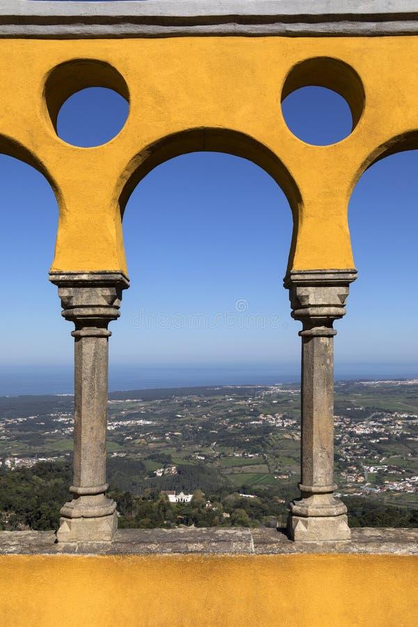 Εθνικό παλάτι Pena - Sintra - Λισσαβώνα - Πορτογαλία στοκ φωτογραφία με δικαίωμα ελεύθερης χρήσης