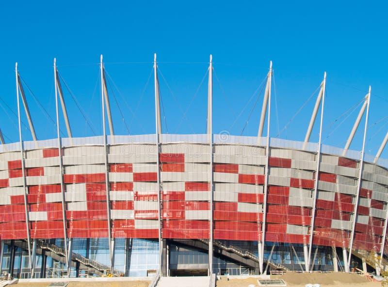 εθνικό στάδιο Βαρσοβία τη στοκ φωτογραφίες