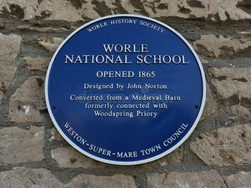 Εθνικό σχολείο Worle στοκ φωτογραφία με δικαίωμα ελεύθερης χρήσης