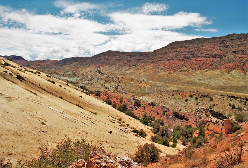 Εθνικό τοπίο πάρκων αψίδων στοκ φωτογραφίες με δικαίωμα ελεύθερης χρήσης