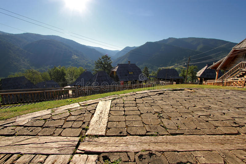 Εθνικό χωριό στοκ εικόνες με δικαίωμα ελεύθερης χρήσης