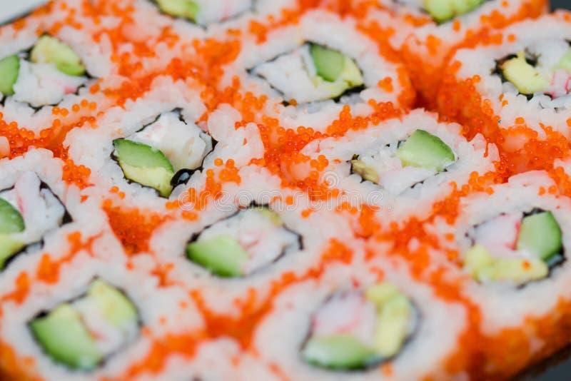 Εθνικό susi τροφίμων στοκ εικόνες