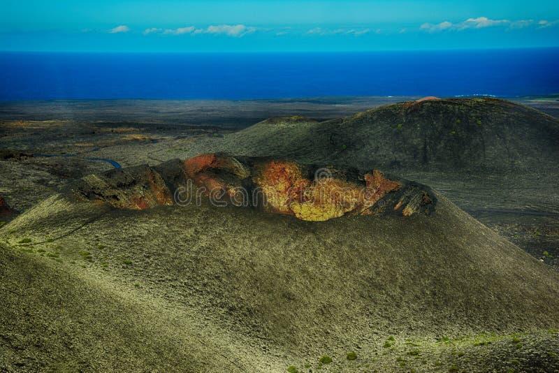 εθνικό timanfaya πάρκων Lanzarote στοκ εικόνα με δικαίωμα ελεύθερης χρήσης