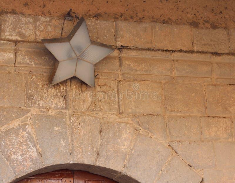 5-δειγμένος αστέρι στοκ εικόνα με δικαίωμα ελεύθερης χρήσης