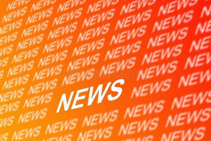 ειδήσεις ανασκόπησης διανυσματική απεικόνιση