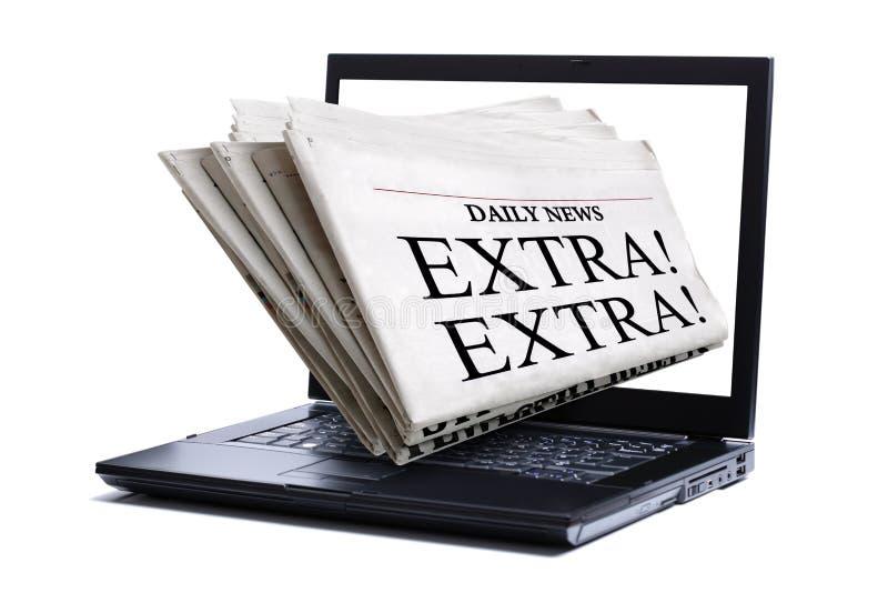 ειδήσεις Διαδικτύου στοκ φωτογραφία με δικαίωμα ελεύθερης χρήσης