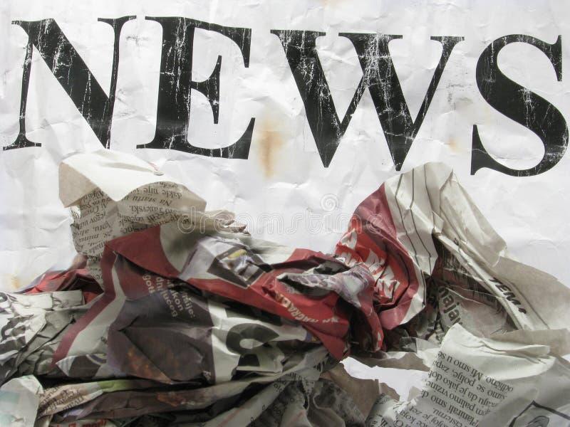 ειδήσεις παλαιές στοκ φωτογραφίες