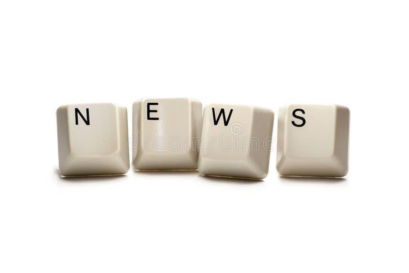 ειδήσεις πλήκτρων υπολ&omi στοκ εικόνα με δικαίωμα ελεύθερης χρήσης