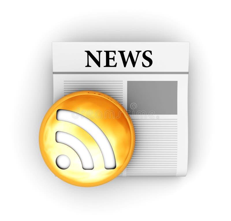 ειδήσεις διανυσματική απεικόνιση