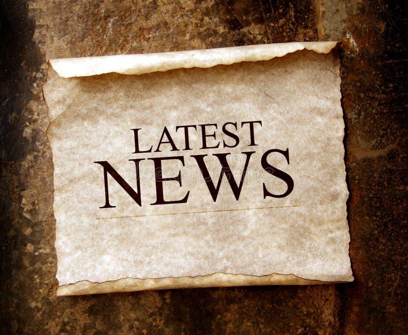 ειδήσεις στοκ εικόνα με δικαίωμα ελεύθερης χρήσης