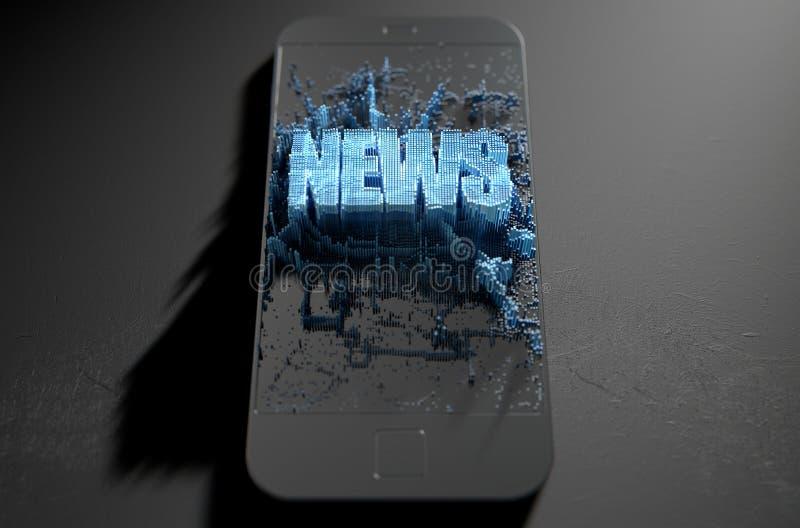 Ειδήσεις Cloner Smartphone απεικόνιση αποθεμάτων