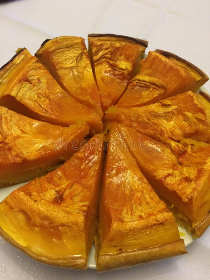 Ειδική πίτα κολοκύθας στοκ φωτογραφίες με δικαίωμα ελεύθερης χρήσης