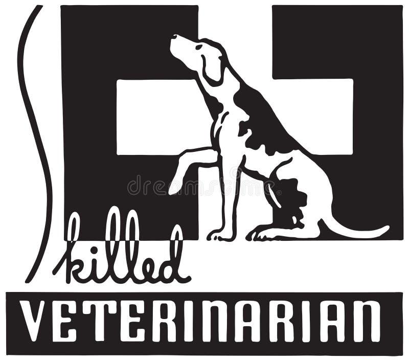 Ειδικευμένος κτηνίατρος απεικόνιση αποθεμάτων
