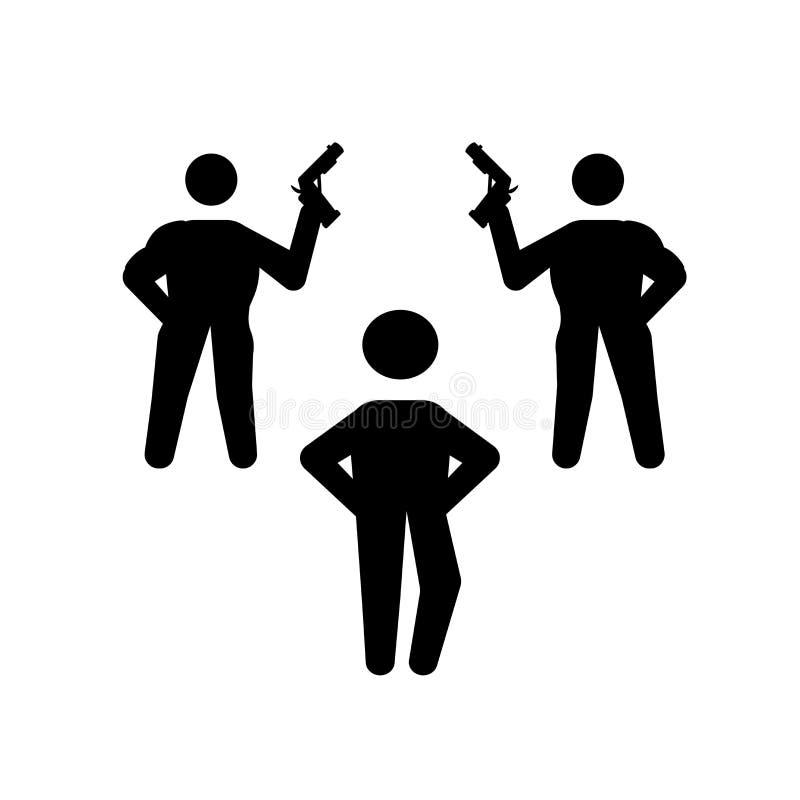 ειδικό ανθρώπινο εικονίδιο Καθιερώνουσα τη μόδα ειδική ανθρώπινη έννοια λογότυπων στο άσπρο β διανυσματική απεικόνιση
